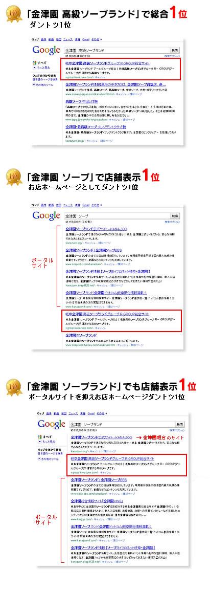 R-GROUPのgoogle検索表示